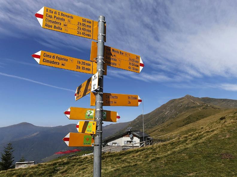 Image 1 - Lugano Trekking tappa 2: Cap. Pairolo-Cap. Monte Bar
