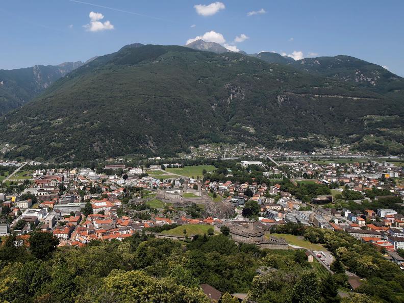 Image 1 - Die befestigten Hügel von Bellinzona