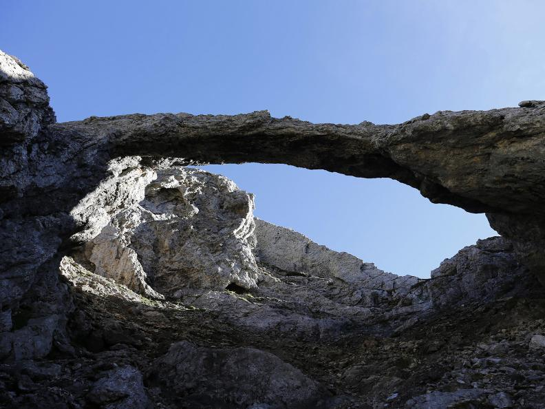 Image 2 - The Greina plateau and Arch