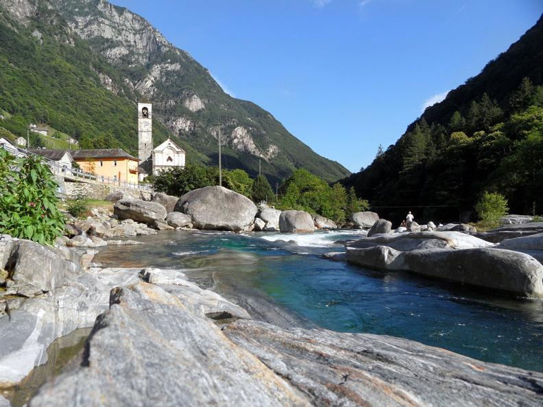 Image 1 - The Verzasca Valley trail