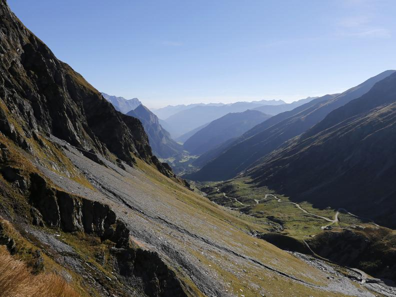 Image 0 -  The ibex goat path