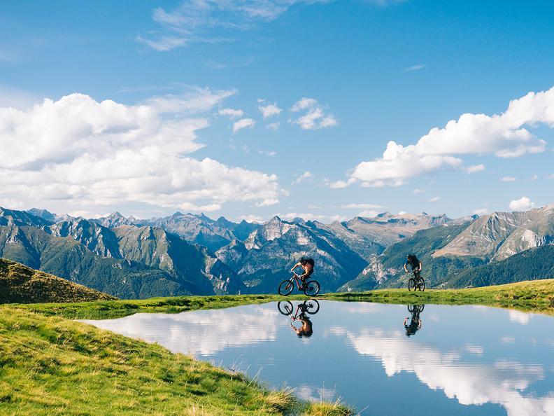 Image 3 - Lugano Bike Stage 3: Rivera - Miglieglia