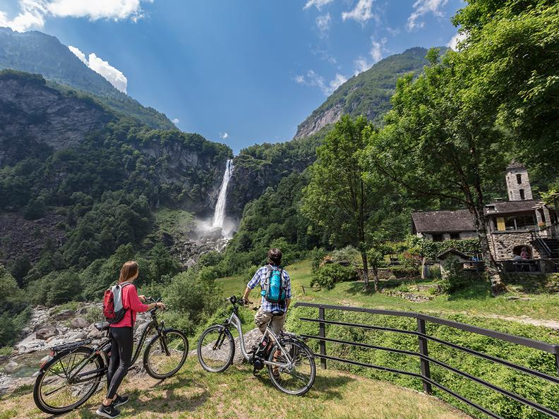 Image 2 - Bavona Valley: cycling through stone villages