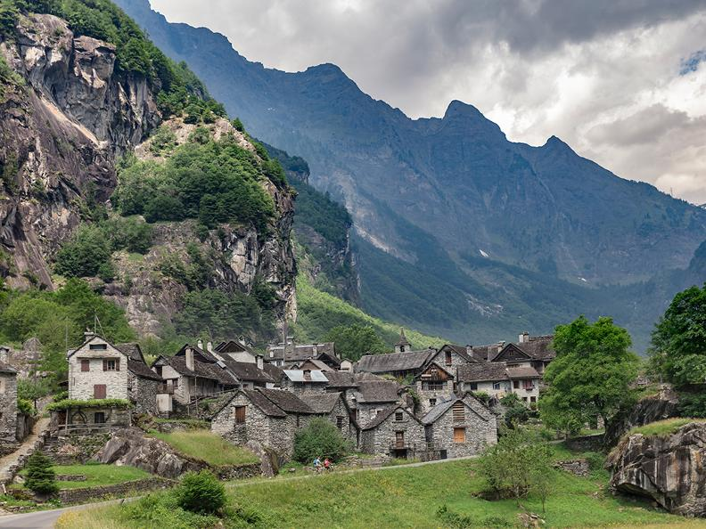Image 1 - Bavona Valley: cycling through stone villages