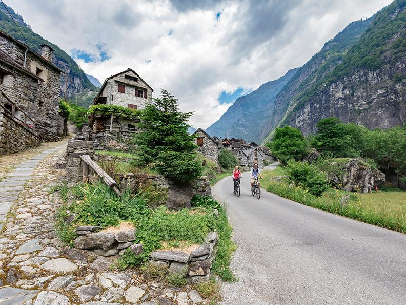 Image 3 - Bavona Valley: cycling through stone villages