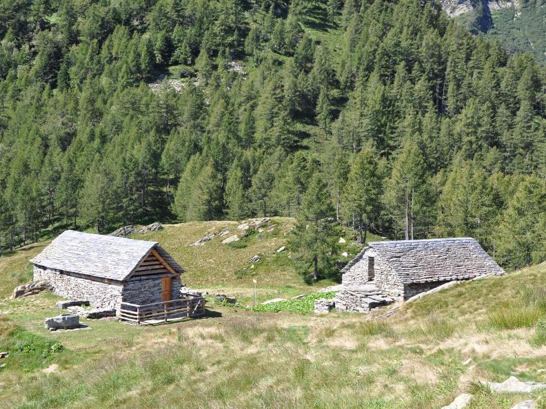 Image 2 - 2ème jour : Alp da Canaa - Alp da Tramón - Mognèe d Zótt - Lodano