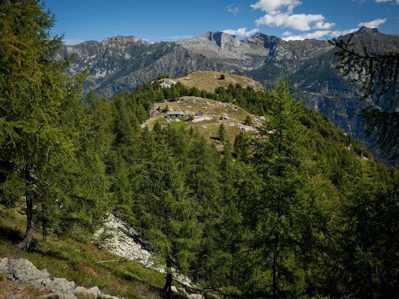 Image 1 - 2ème jour : Alp da Canaa - Alp da Tramón - Mognèe d Zótt - Lodano