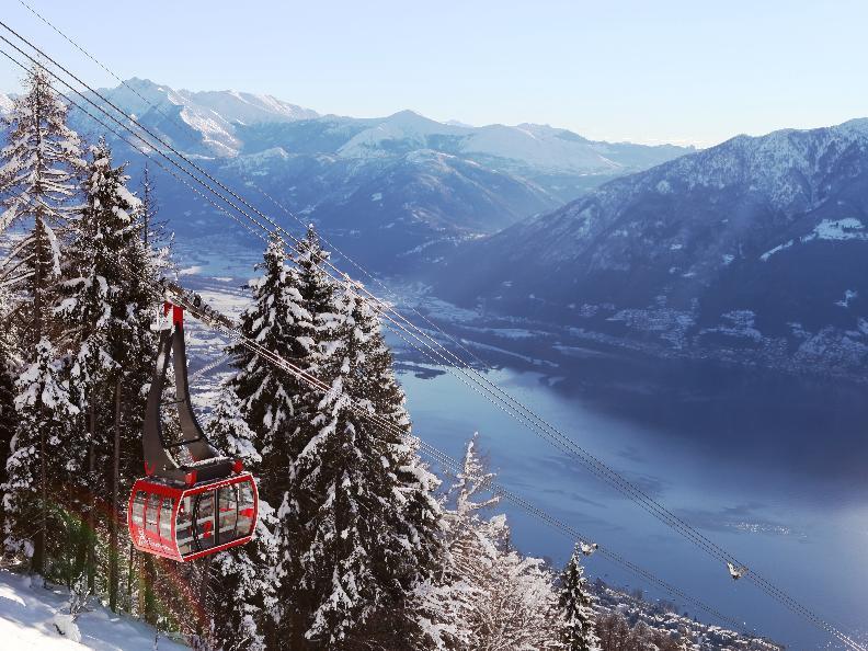 Image 1 - Schneeschuh-Wanderweg - Cardada-Cimetta