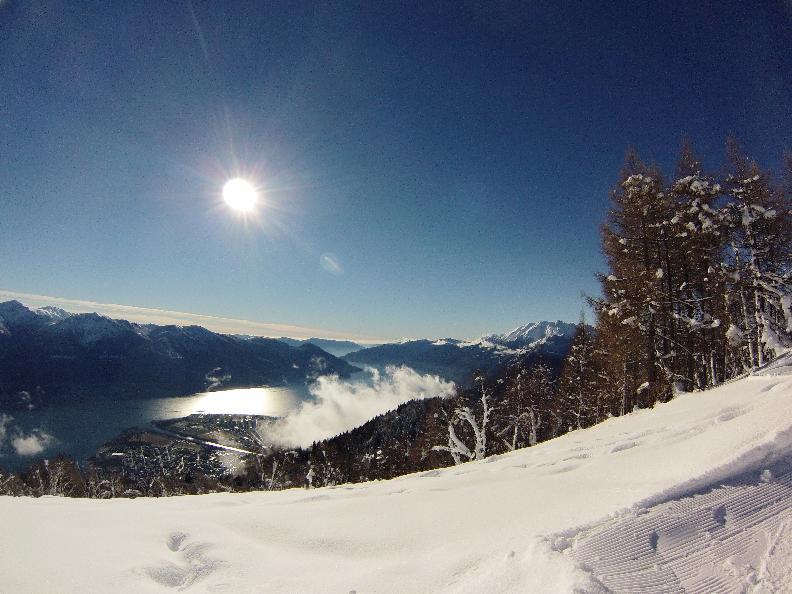 Image 0 - Schneeschuh-Wanderweg - Cardada-Cimetta