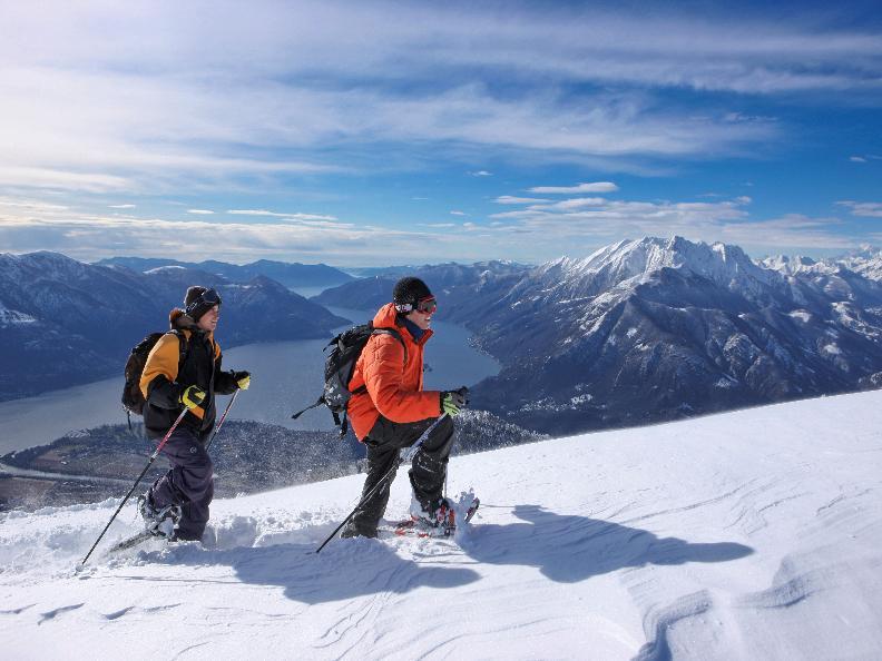 Image 2 - Schneeschuh-Wanderweg - Cardada-Cimetta