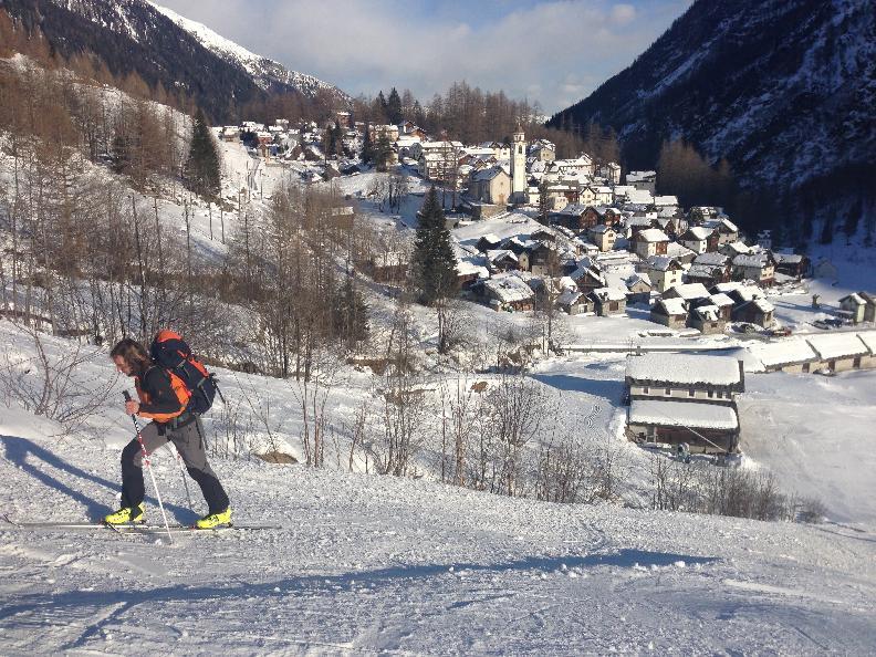 Image 2 - Snowshoe trail - Bosco Gurin
