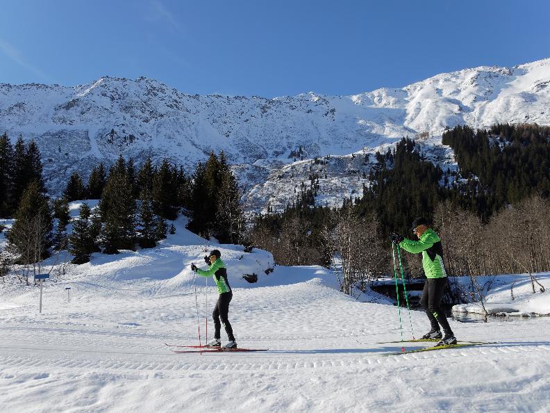 Image 2 - Pista blu di Campra - Cross country skiing