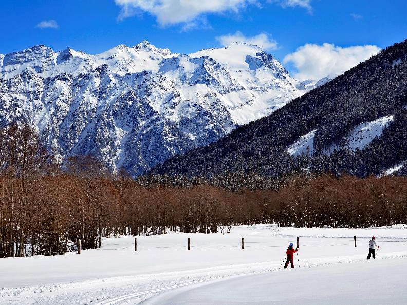 Image 1 - Cross-country skiing Campra - Blue trail