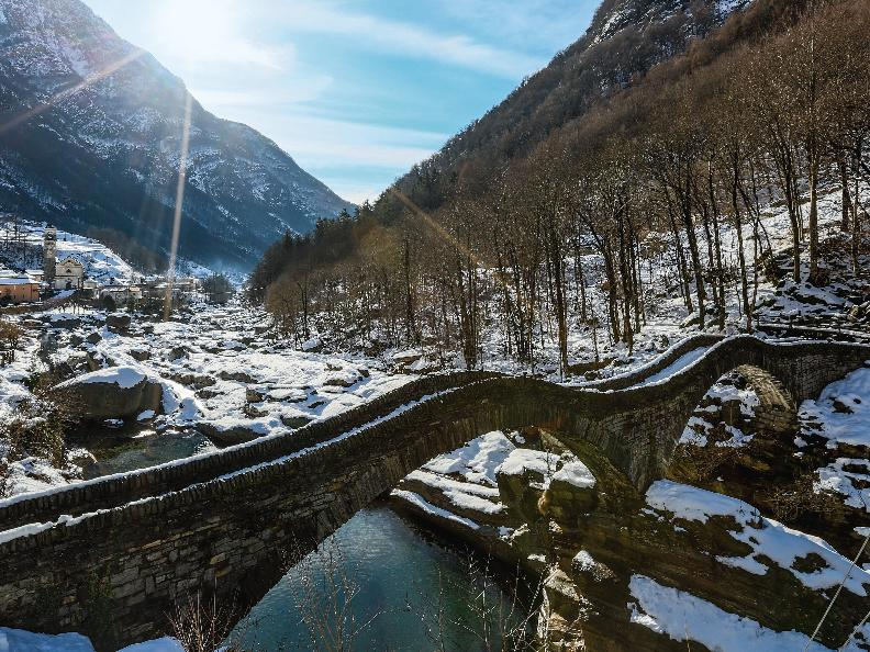 Image 3 - Winter walk - Valle Verzasca