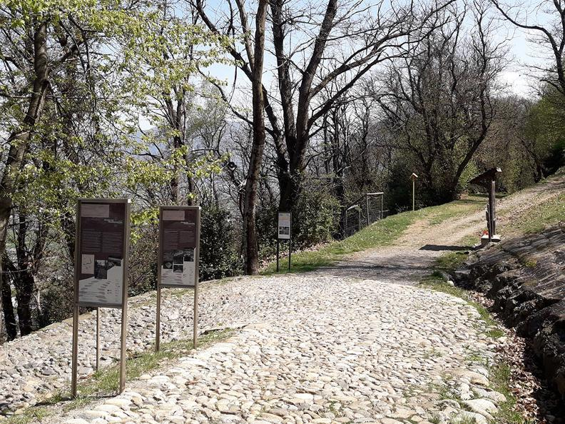 Image 4 - The historical Montecenerino trail