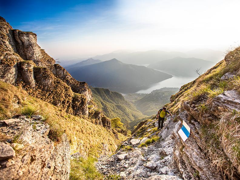 Image 1 - Variante Monte Generoso - Wanderweg Gianola