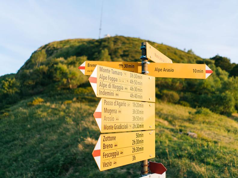 Image 0 - On the way of alpine pastures-2: Monte Lema - Tramboschino - Casera