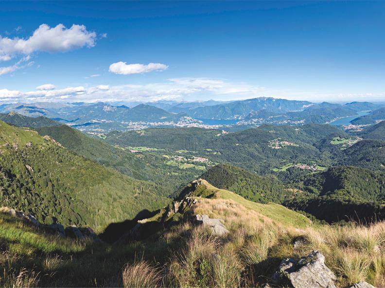 Image 4 - On the way of alpine pastures-2: Monte Lema - Tramboschino - Casera