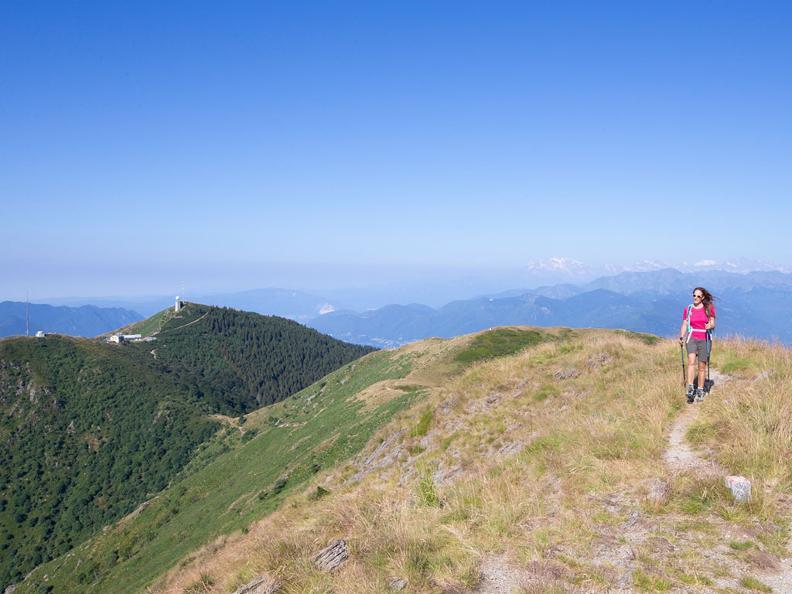 Image 0 - On the way of alpine pastures-3: Monte Lema - Alpe di Mageno - Breno
