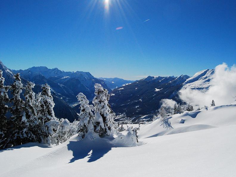 Image 1 - Snowshoe trail - Camperio-Gorda