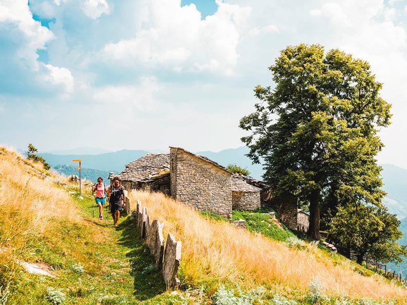 Image 1 - À la découverte des « nevère » du Monte Generoso