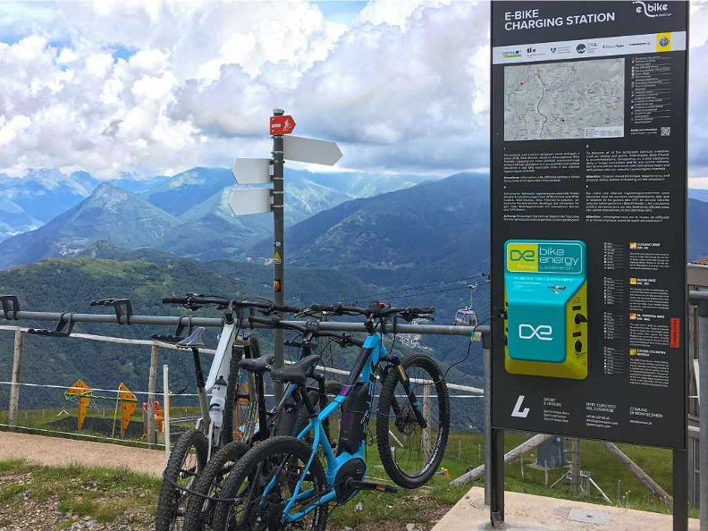 Image 9 - Lugano e-mtb tour: stage 1 Ponte Tresa - Miglieglia