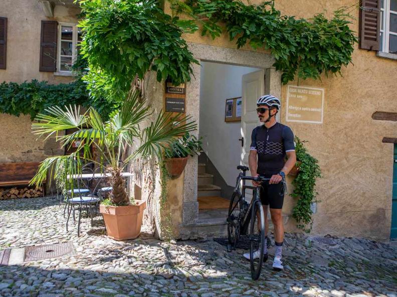 Image 6 - Lugano e-mtb tour: stage 1 Ponte Tresa - Miglieglia