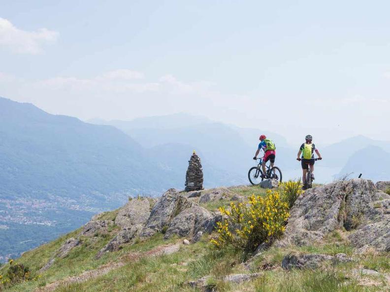 Image 1 - Lugano e-mtb tour: stage 4 Monte Bar - Alpe Bolla