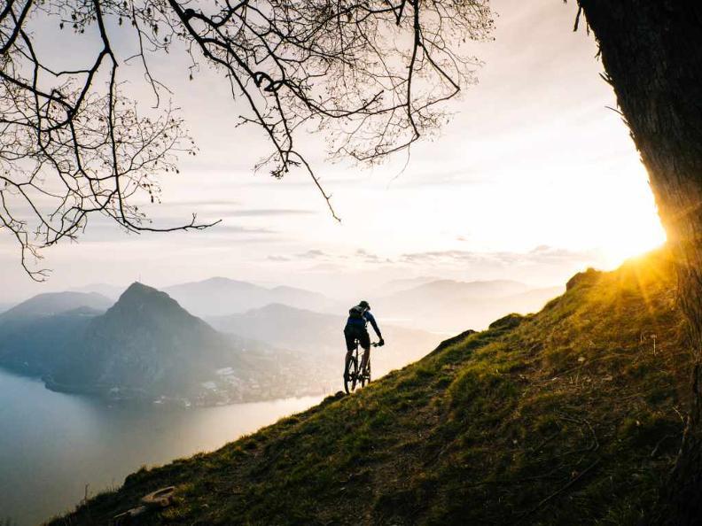 Image 2 - Lugano e-mtb tour: stage 5 Alpe Bolla - Morcote