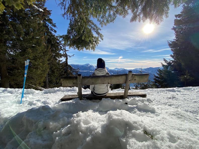 Image 1 - Snowshoe trail Mornera