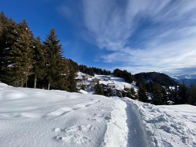 Image 6 - Snowshoe trail Mornera