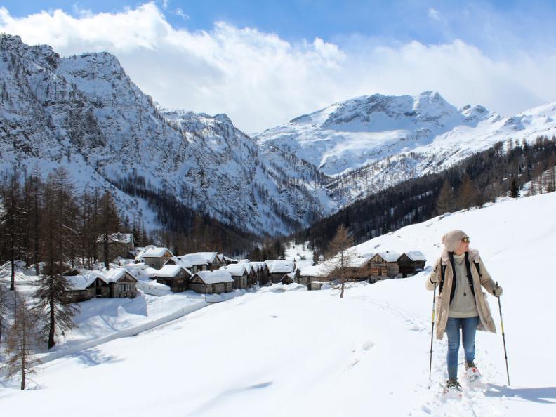 Image 2 - Snowshoe trail Ferder