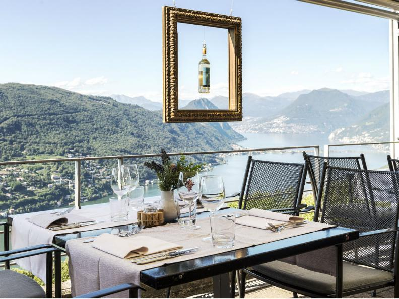 Image 0 - Restaurant Hotel Serpiano